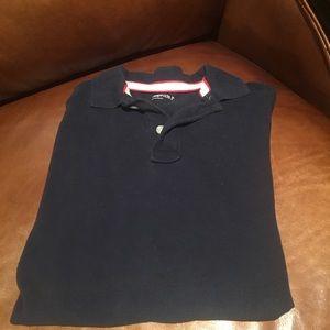 Gap Kids Boys Short Sleeve Navy Polo Shirt SZ M